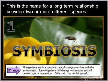 Ecology Symbiosis Quiz Game, Invasive Exotic Species