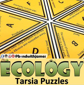 Ecology (Ecosystems) Tarsia Puzzles