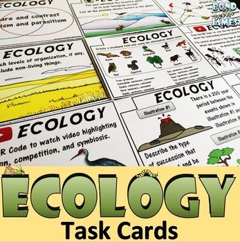 Ecology: Task Cards
