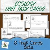 Ecology Task Cards Unit