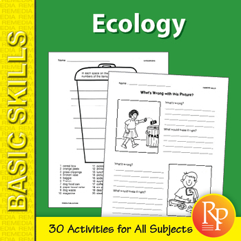 Ecology: Thematic Unit for All Subjects