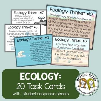 Ecology - Task Cards