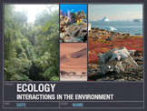 Ecology - Unit (221 PowerPoint Slides)