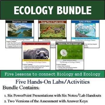 Ecology Unit (Five 90min Lesson Bundle with Assessment)