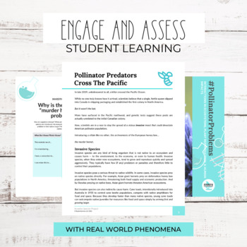 Project Based Learning: Invasive Species Project (Ecology)