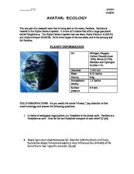 Ecology Unit (Avatar)