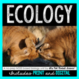 Ecology Unit - Distance Learning Compatible
