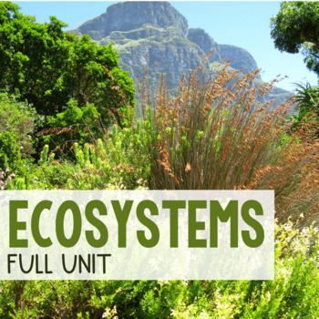 Ecology Unit Bundle - over 29 files!