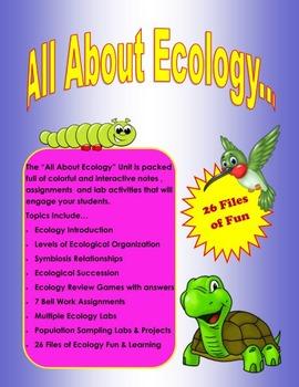 Ecology Unit (Grades 7 - 12)