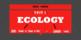 Ecology Unit - Lectures, Notes, & Activities