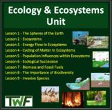 Ecology Unit Bundle - Sustainable Ecosystems - Google Slid