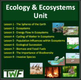 Ecology Unit: Complete Sustainable Ecosystems Unit -Lesson