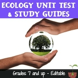 Ecology Test and Study Guides