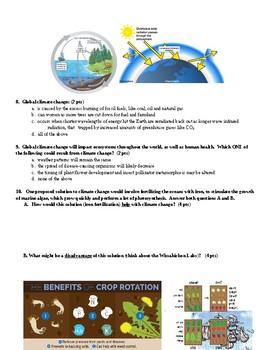 Ecology Unit Test for Biology