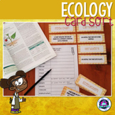 Ecology Vocabulary Card Sort