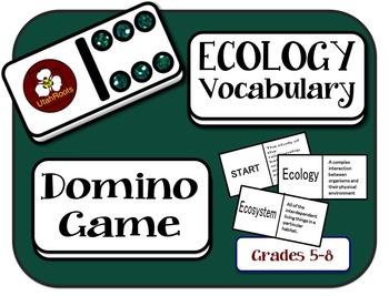 Ecology Vocabulary Domino Game
