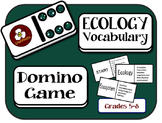 Ecology Vocabulary Domino Game