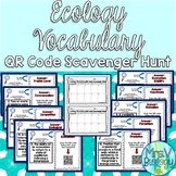Ecology Vocabulary QR Code Scavenger Hunt Activity