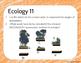 Ecology Warm Up or Exit Ticket Digital Task Card Set