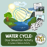 Ecology - Water Cycle Dice Simulation Game - Distance Learning + Digital Lesson