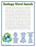 Ecology Word Search