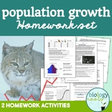 Ecology- Population Growth Homework