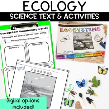 Ecology and Ecosystem Nonfiction Guided Reading Article and Activity