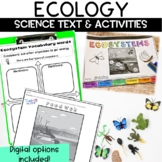 Ecology and Ecosystem Nonfiction Guided Reading Article an