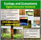 Ecology and Ecosystems - Digital Interactive Notebook