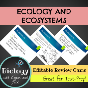 Ecology and Ecosystems Review Game