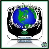 Environmental Vocabulary Thematic Reference / Vocabulario del medio ambiente
