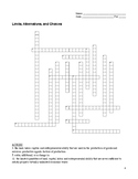 Econ Basics Crossword Puzzle Pack