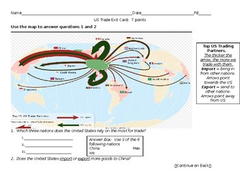 Econ:  Interdependence Map and Assessment
