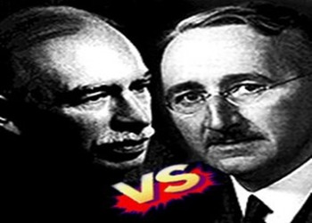 "Econ Stories' ""Fight of the Century: Keynes vs. Hayek Round Two"" Worksheet"