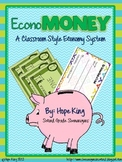 EconoMoney (Customizable): A Booming Classroom Economy All Year Long