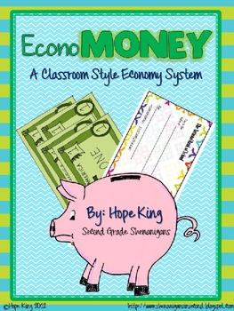 EconoMoney (Customizable): A Booming Classroom Economy All Year Long