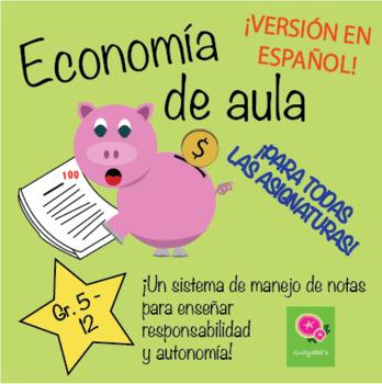 Economía de Aula – ¡Sistema de Banca de Notas para tu Aula!
