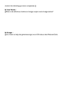 Economic Activity Guided Notes - Intro to Business Ch. 3