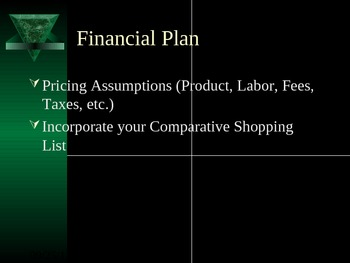 Economic Business Plan Project Template