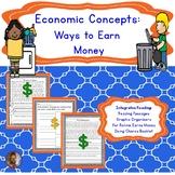 Economic Concepts 1st Grade: Ways to Earn Money