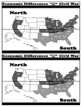 Economic Differences during...the Civil War