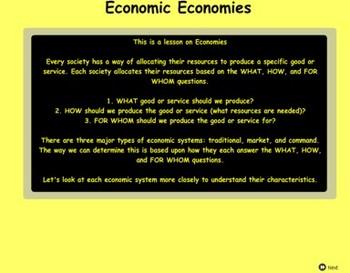 Economic Economies - Bill Burton