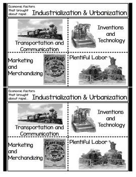 Economic Factors for rapid Industrialization and Urbanization