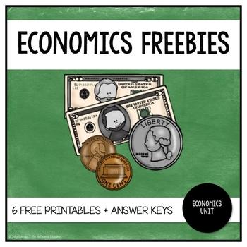 Economics Worksheets   FREE