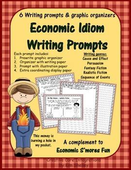Economic Fun Idiom Writing Prompts