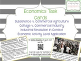 Economic Geography Task Cards
