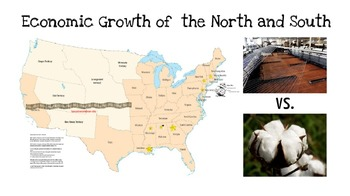 Economic Growth in the North and South