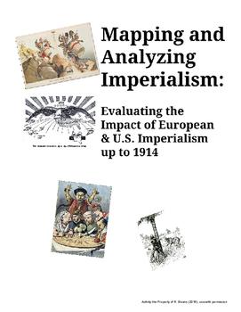 Economic Imperialism - Map Activity