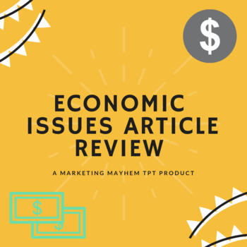 Economic Issues Article Review