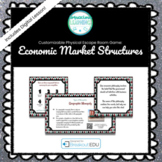 Economic Market Structures Customizable Escape Room / Breakout Game